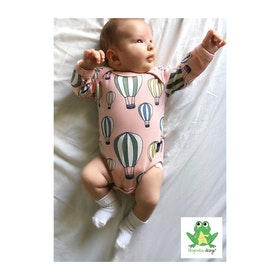 Kuvertbody/Kuverttröja till baby - Eget tygval