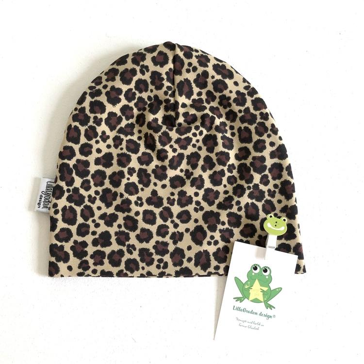 Leopard Mini, BrunBeige - Mössa
