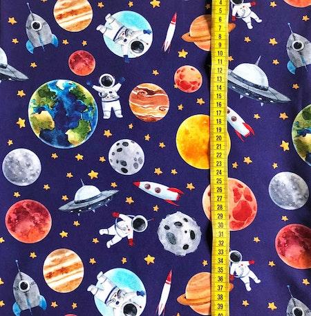 Tyg Astronauter, Blå #607