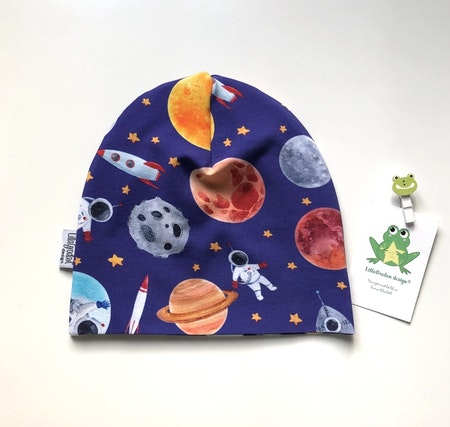 Mössa - Astronauer, Blå #M607