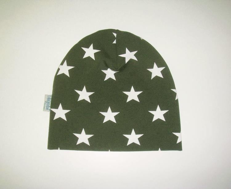 Stjärna Olivgrön - Mössa