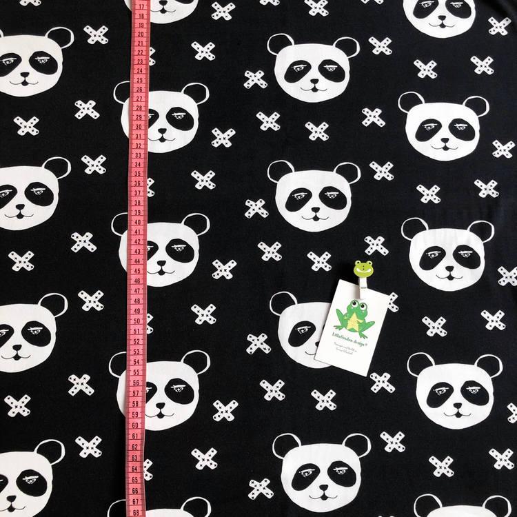 Panda X, Svart - Mössa