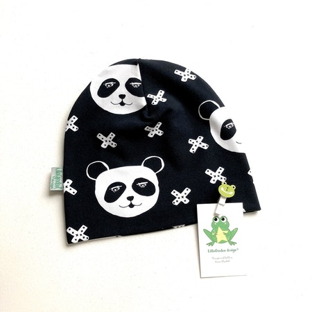 baggymössa - Panda X, Svart #624