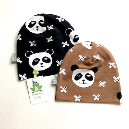 baggymössa - Panda X, Svart #624 och Nougat #623