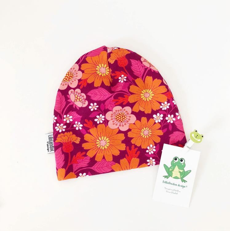 Blommor Florens, Cerise - Mössa