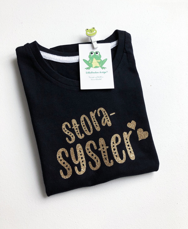 T-shirt - Storebror/Storasyster