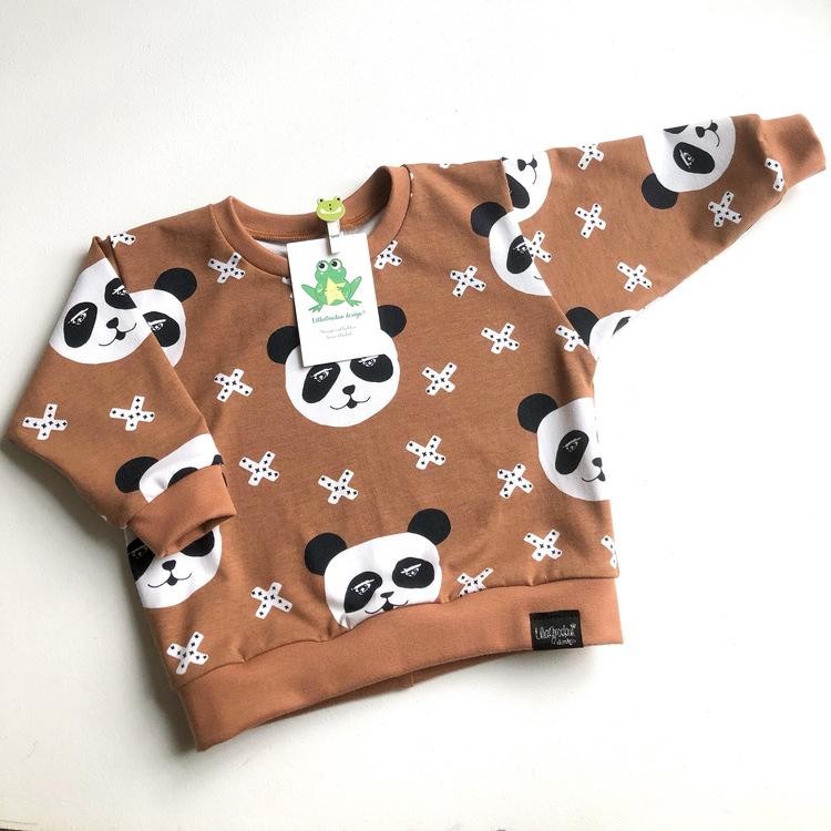 Panda X, Nougat, Oversizetröja, strl 80