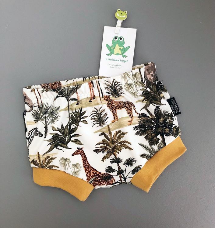 Savannen, Vit - Bummies/Korta shorts, strl 80