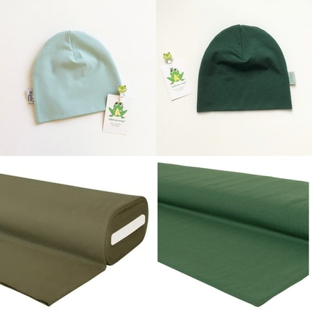 Enfärgat Grönt, färgcollage