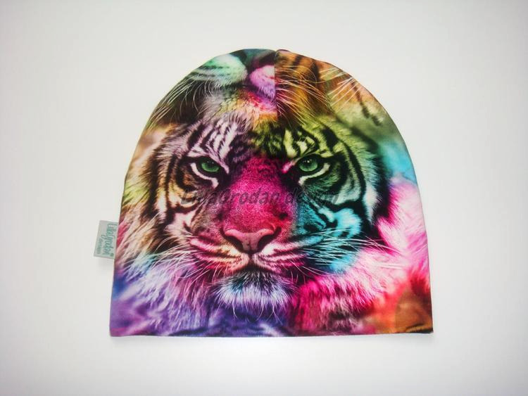 Tigrar, Regnbågsfärg - Mössa