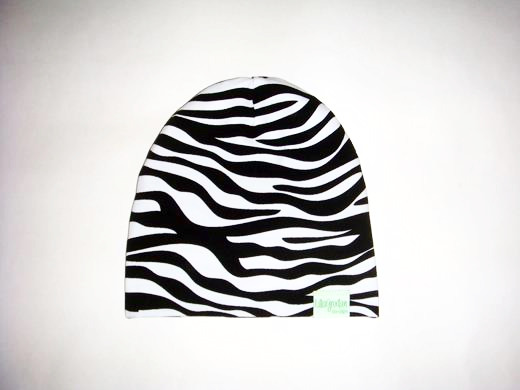 Zebra, Vit - Mössa