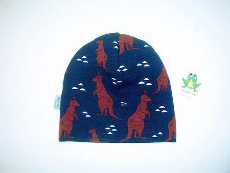 Baggymössa - Känguru, Mörkblå #M481, ekotyg GOTS