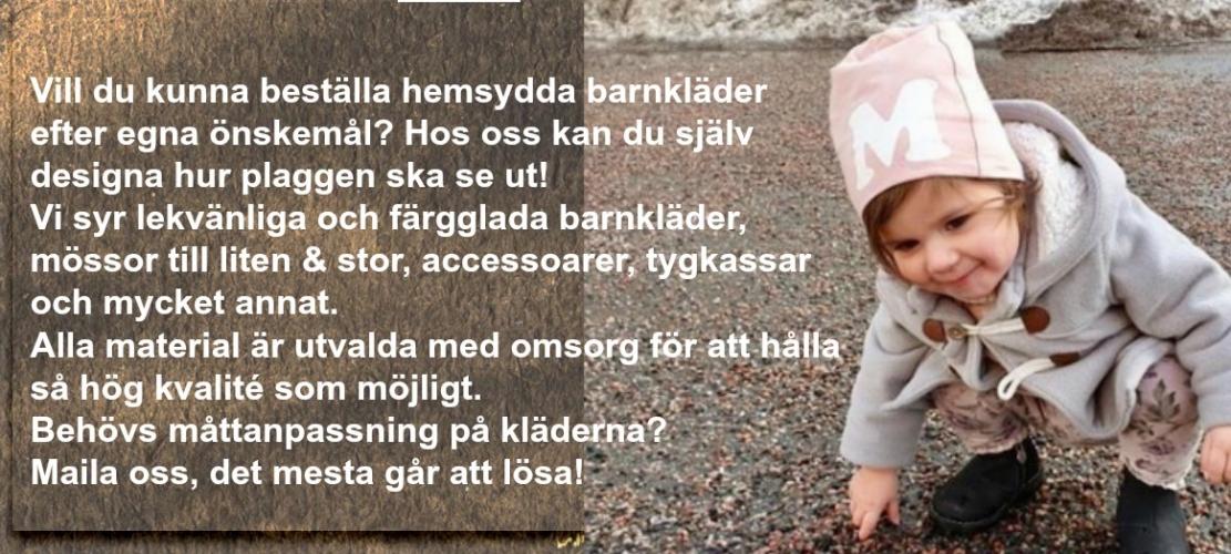 LillaGrodan design färgglada barnkläder på nätet