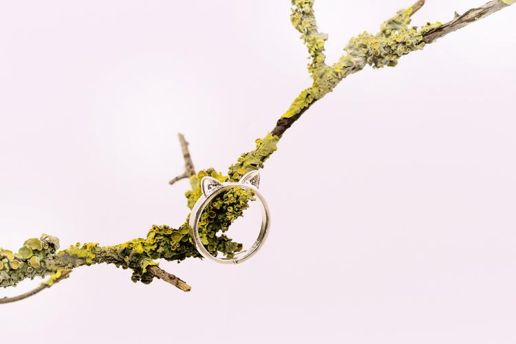 RING - MJAU/ 925 silver