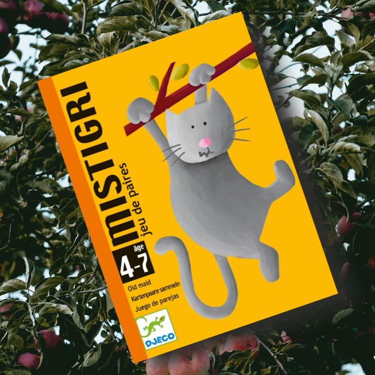FYND! Mistigri - Nej, inte den grå katten! spel från Djeco