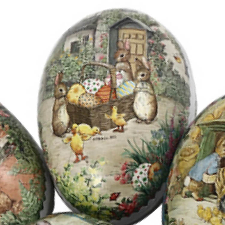 Fina påskägg - Beatrix Potters Pelle Kanin - 12 cm (flera olika motiv att välja bland)