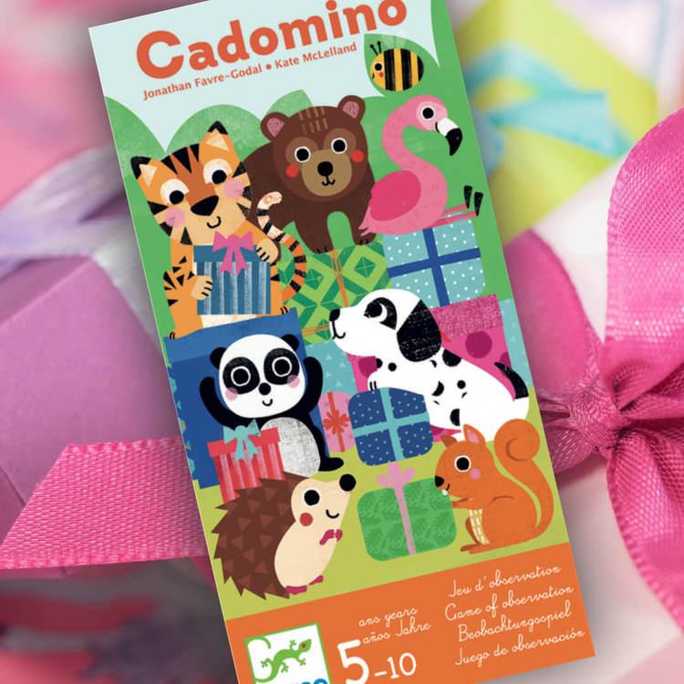 FYND - Cadomino - Spelet där du ska para ihop rätt present med djur