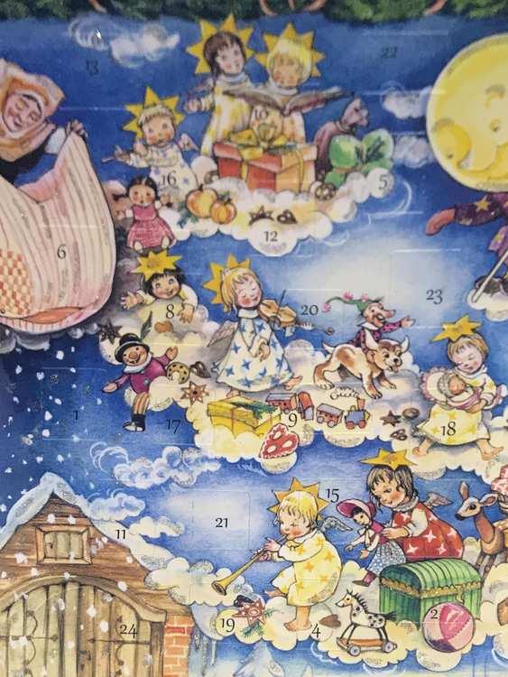 Små Adventskalendrar Julkortstorlek - Sagorna - Massor att välja bland (Fraktfritt)
