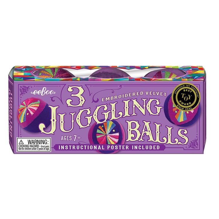 Mjuka jongleringsbollar