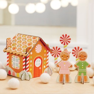 Pop-out Pepparkakshus (40 bitar)
