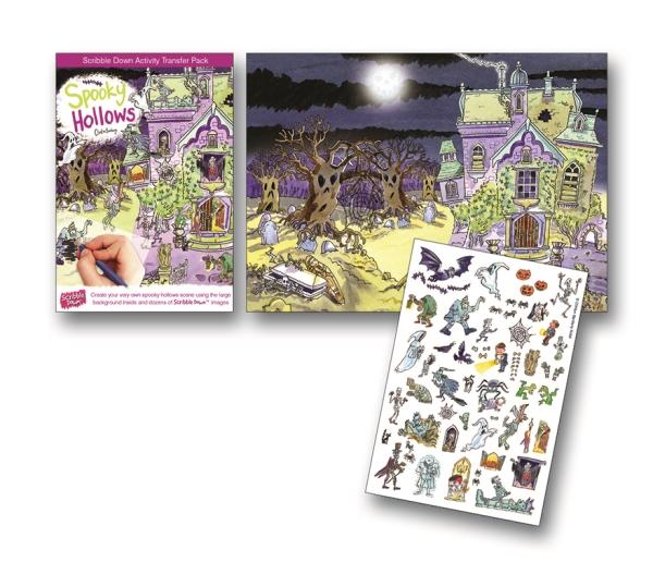 Gnuggisar Spökhuset pyssel spökhus halloween mr humblebee
