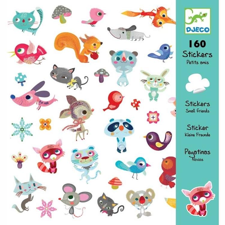 Klistermärken - Små djur
