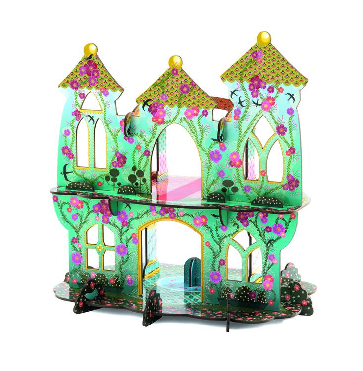 Drömmarnas slott Djeco dockhus dockskåp