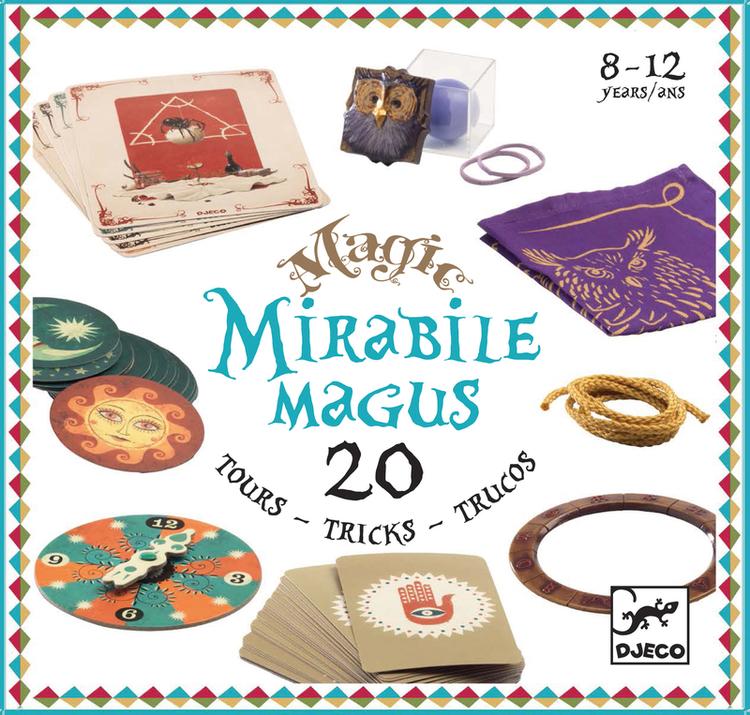 Trollerilåda - Mirabile Magus, 20 olika tricks