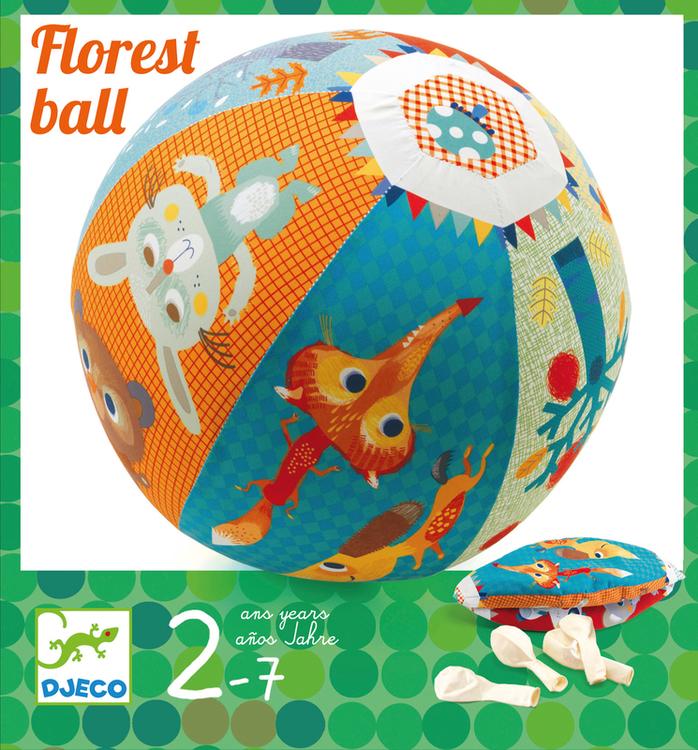 Fjäderlätt boll med ballong - Ballongboll Djeco