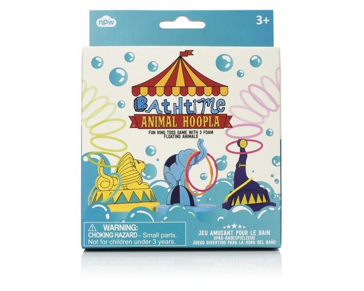 Kasta ringar över djuren (lek i badet) badleksaker badleksak NPW