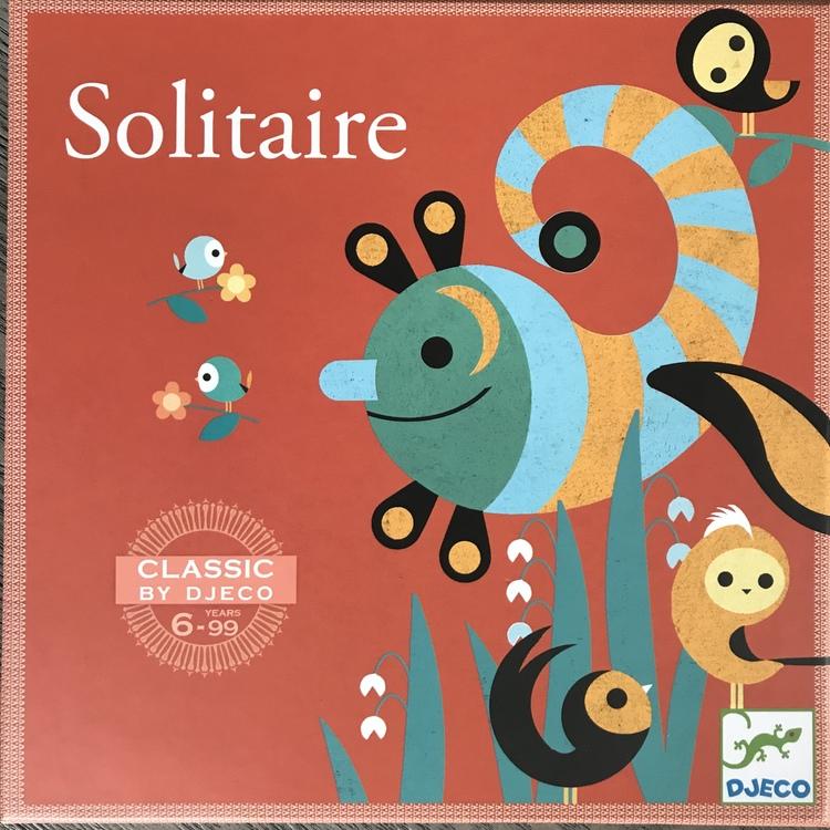 Solitaire- Spel för en person från Djeco