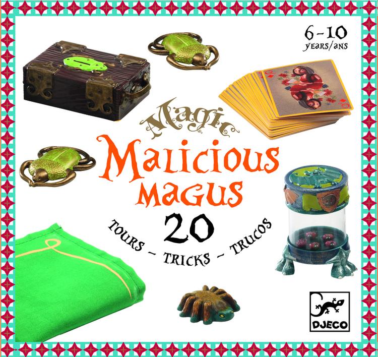 Malicious magus - Trollerilåda med 20 olika tricks!