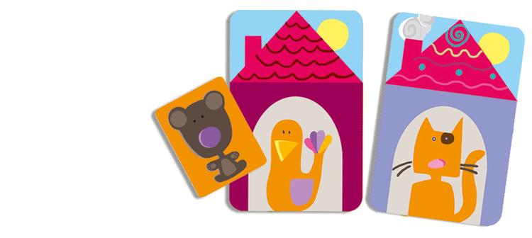 Oudordodo - Var är Dodo? Kortspel för barn från Djeco