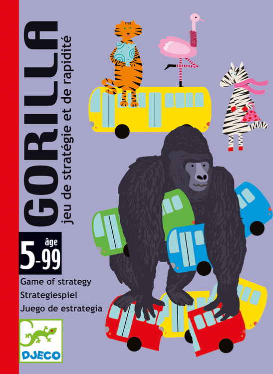 Gorilla - Ett spel där korten flyger!