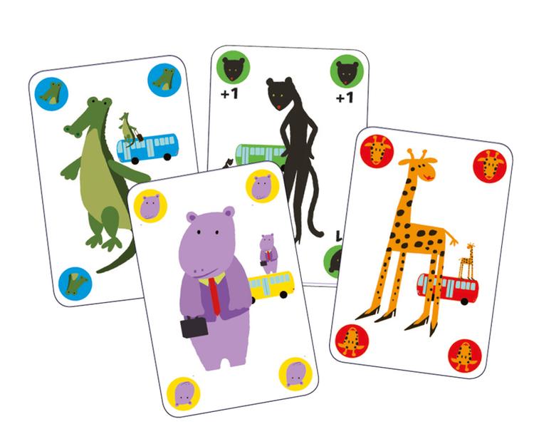 Gorilla - Ett spel där korten flyger! från Djeco
