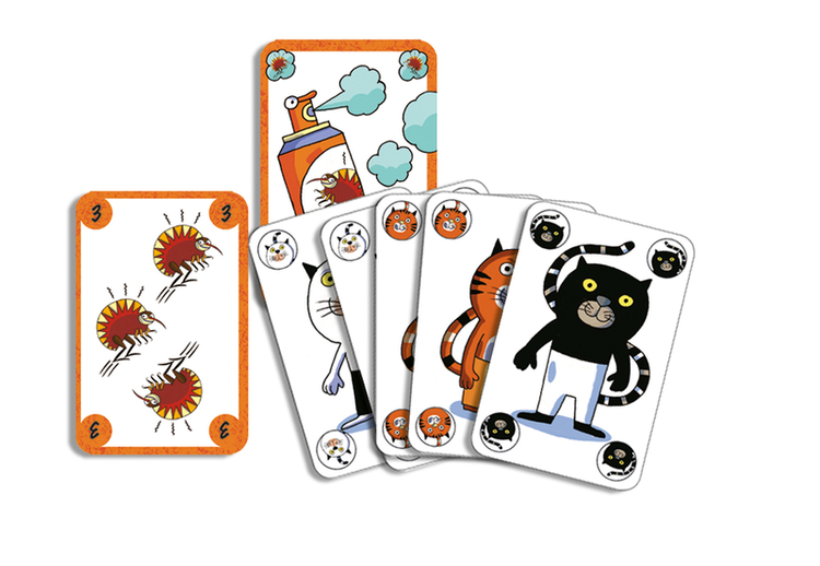 Sakapuss - Spel om loppor från Djeco
