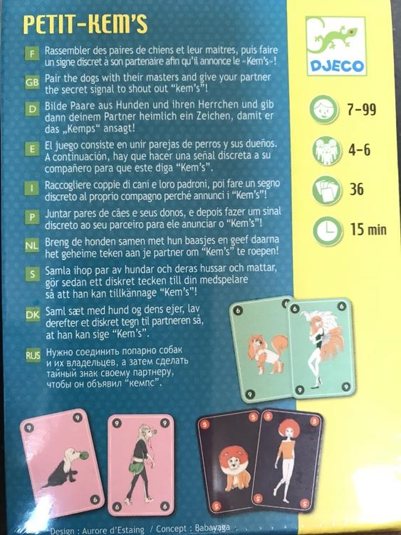 Petit-Kem's - Spelet med hemliga tecken från Djeco