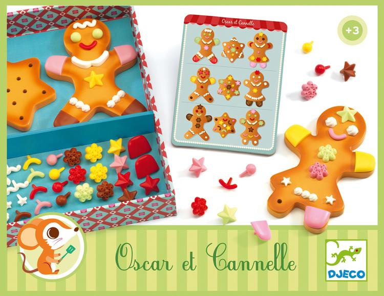 Dekorera pepparkakor (Oscar & Canelle)