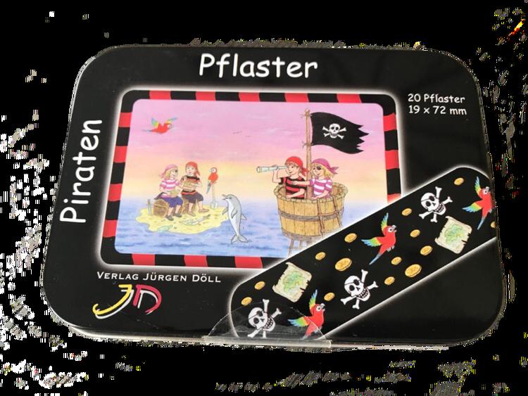 Piratplåster - Aj, aj kapten...det gör ont!