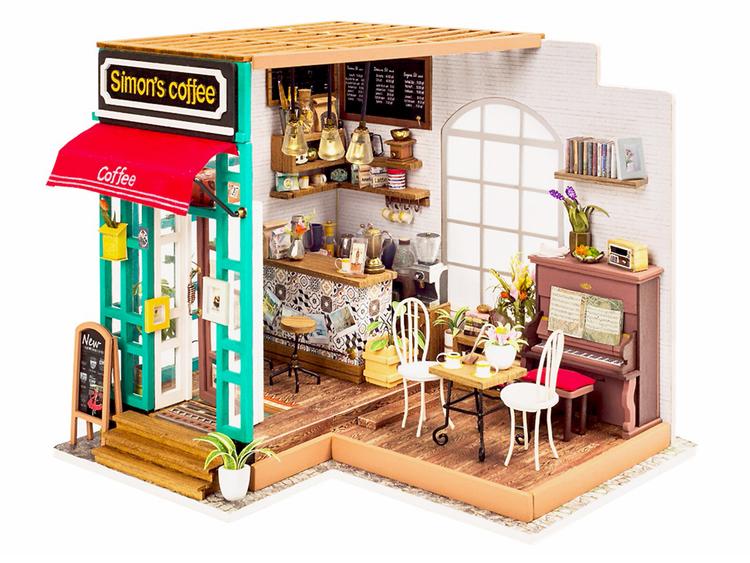 Byggsats - Bygg ditt eget café från Robotime