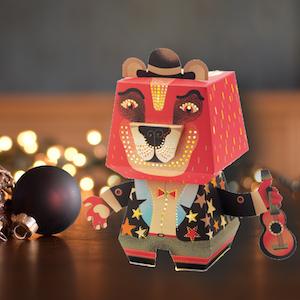 Nattlampa - Känn dig trygg med coola Arty Bear