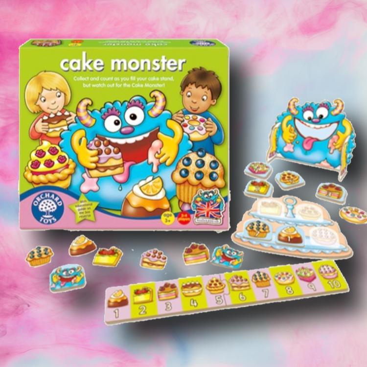 Roligt spel - Ät bakelser och räkna till 10 med Kakmonstret (Cake Monster)