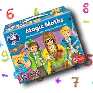 Lär dig räkna - Förtrollat spel med magiska brickor (Magic Maths)