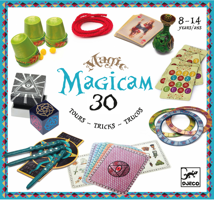 Magicam - Trollerilåda med 30 trix från Djeco