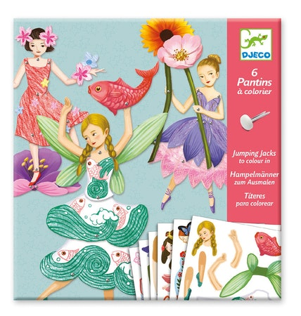 Sprattelgubbar - Älvor (Jumping Jack, Fairies) från Djeco