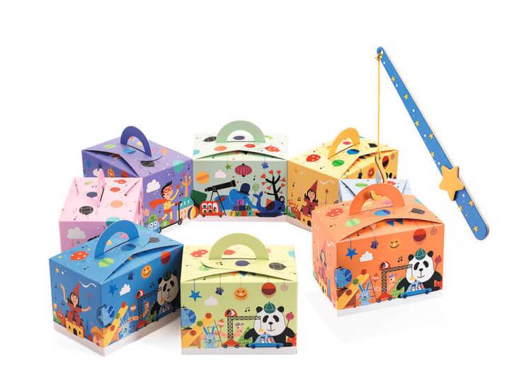 Lådor till fiskdamm (Surprise Box) från Djeco