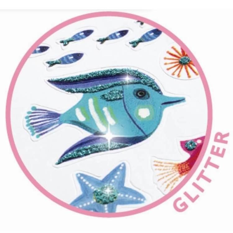 Mini stickers, Under the sea, från Djeco