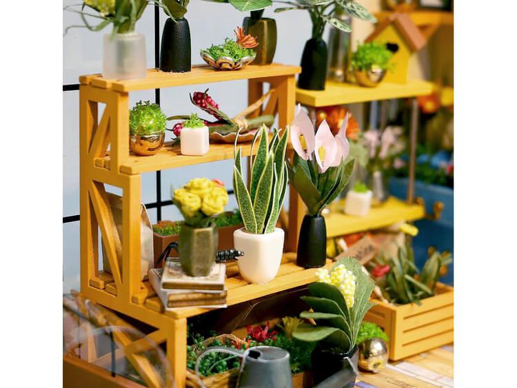 Miniatyrpyssel- Byggsats 'Orangeri