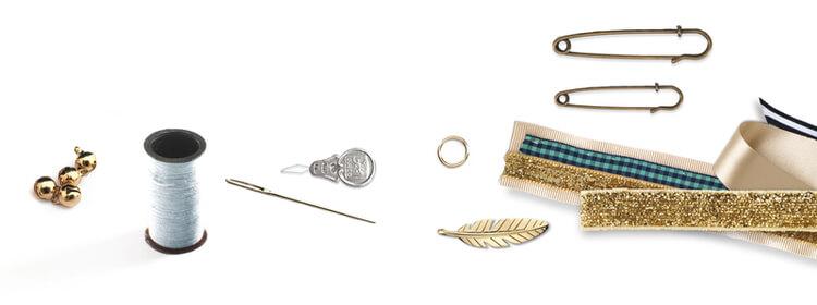 Skapa fina medaljer (Sewing, Brooches) från Djeco