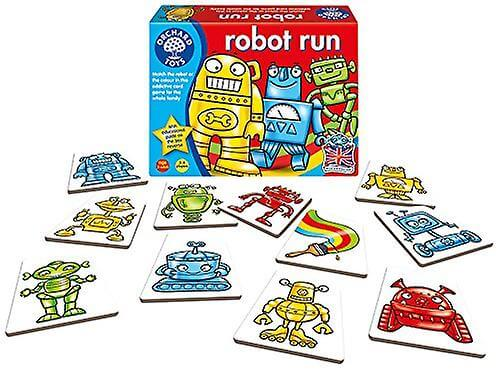 Robot Run - Spel för att para ihop robotar